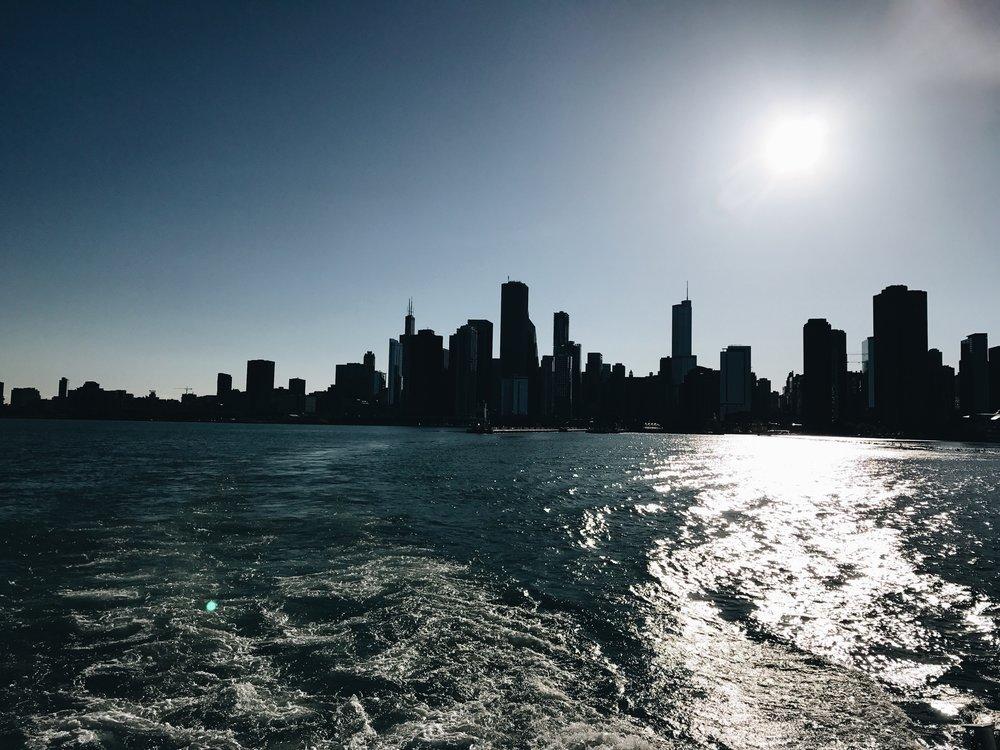 A riverboat tour