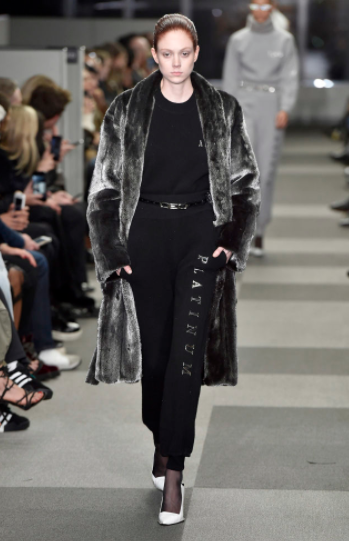 Platinum and fur...yes, please -
