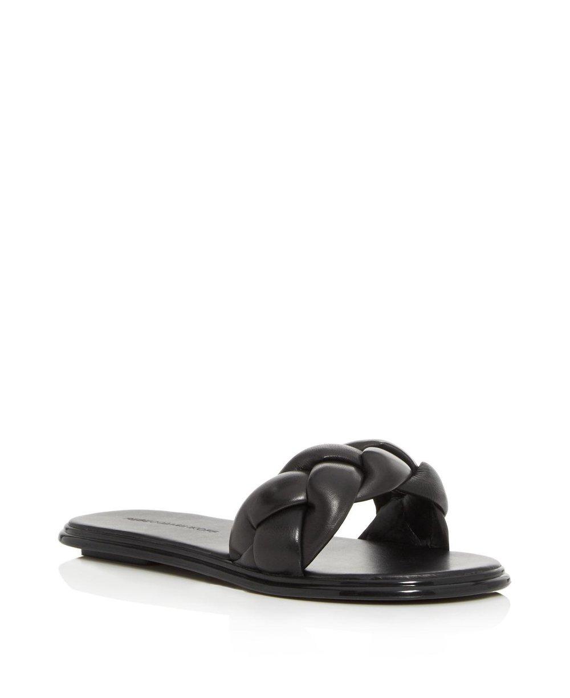 Rebecca Minkoff Braided Leather Slide {$100} -