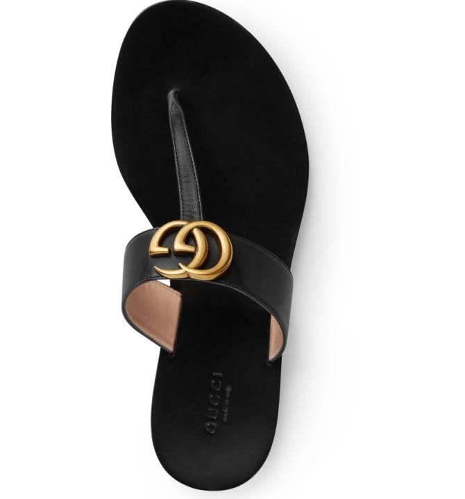 Gucci Marmont T-Strap Sandal {$495} -