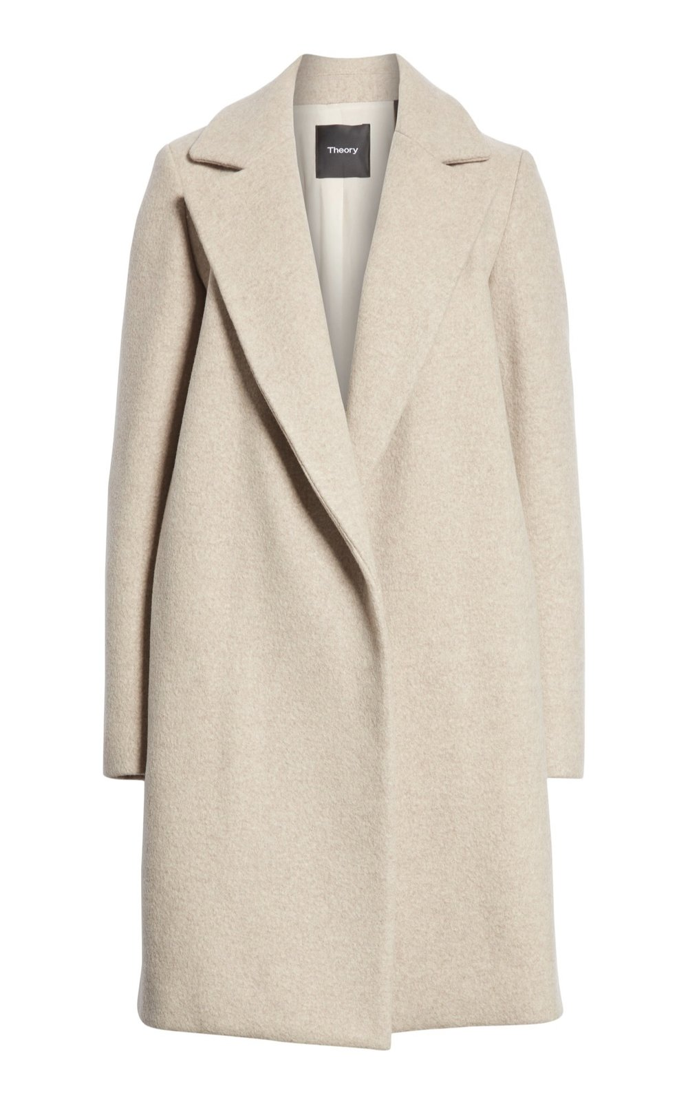 Theory 'Clairene Hawthorne' Wool Cashmere Coat {$397.90} - After sale: $595