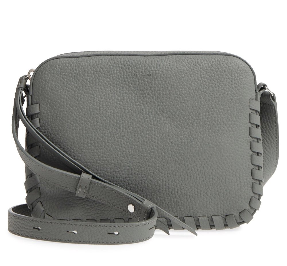 ALLSAINTS Kepi Mini Leather Crossbody {$129.90} - After sale: $198