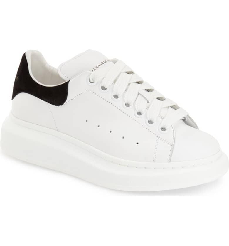 4. Alexander McQueen Sneakers {$575} -