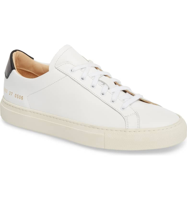 6. Common Projects 'Retro' Low Top {$465} -