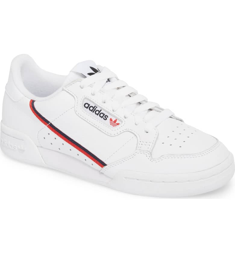 7. adidas Continental 80 Sneaker {$80} -