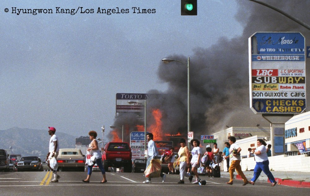 Koreatown of fire