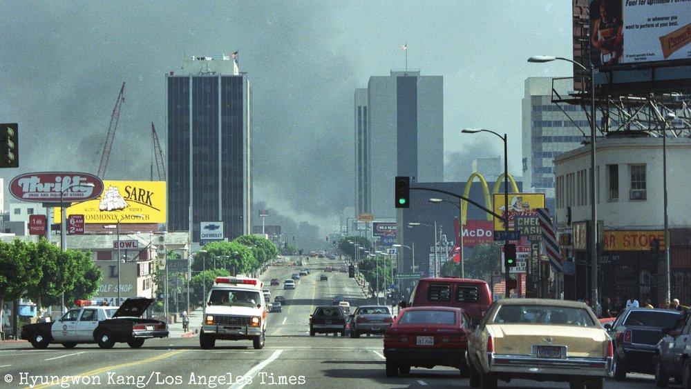 Koreatown burns
