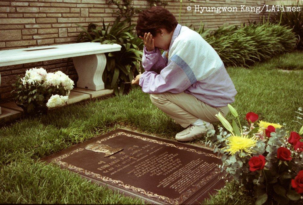 Eddie Lee's grave
