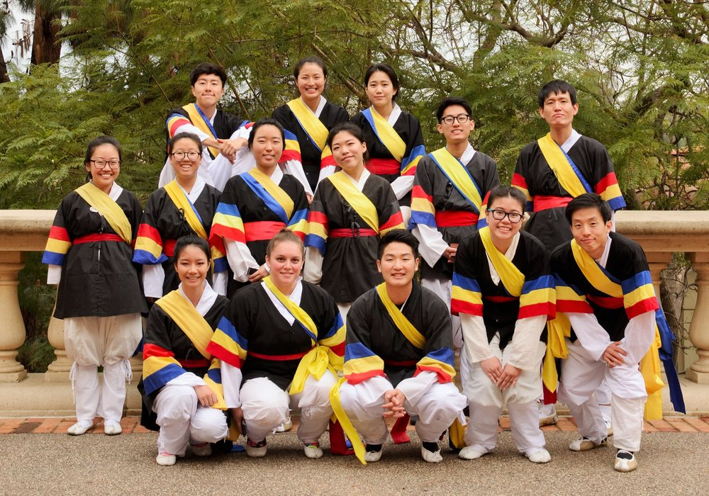 Hanoolim- Korean Cultural Awareness Group   Hanoolim Korean Cultural Awarenss Group is the only UCLA student organization dedicated to promoting Korean traditional and modern culture. Poongmul is the branch of Hanoolim that continues to uphold Korean traditional drumming; students learn and practice throughout the school year to prepare for performances at the Koreatown Lunar New Year March (Jishinbalpki), Korean Culture Night, the Asian Pacific Heritage Month festival, and other events in Los Angeles. Hanoolim Poongmul provides an opportunity for Korean students to appreciate their culture, and for all students of various ethnic heritages to experience the Korean tradition.