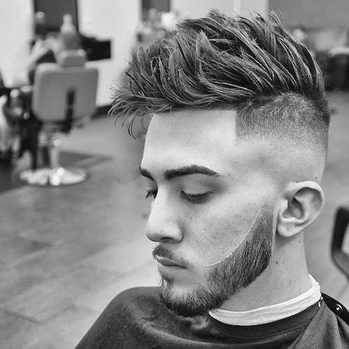 The Bald Fade Haircut