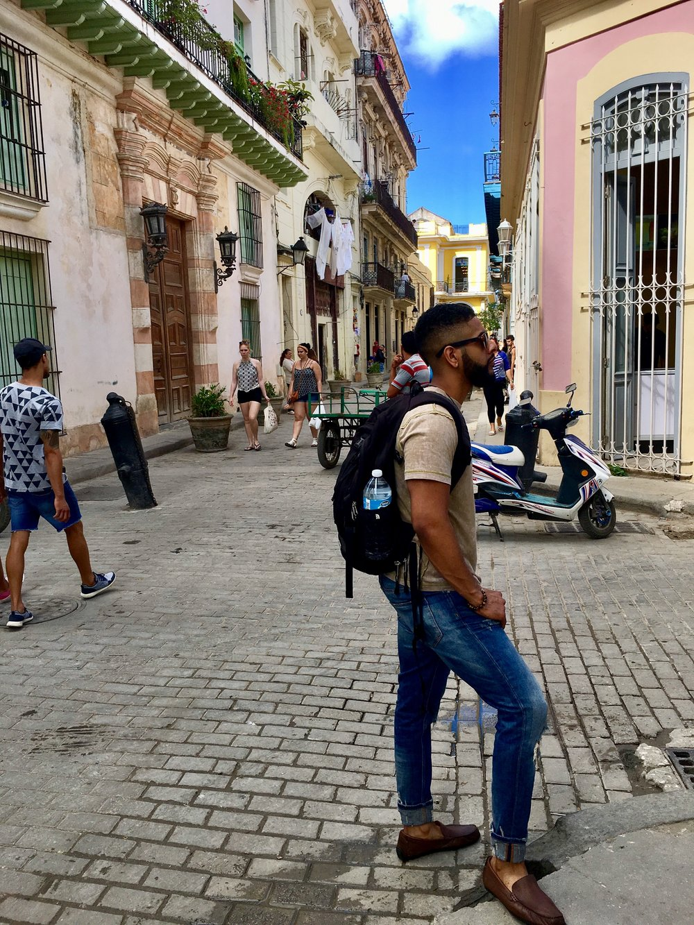 Style Endorsed by D.Garcia (Owner).   Image: Roaming the streets of Havana, Cuba!