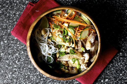 cold rice noodles