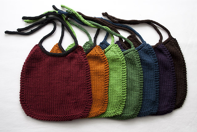 free bib knitting pattern