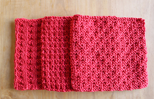 knitting pattern dish cloth