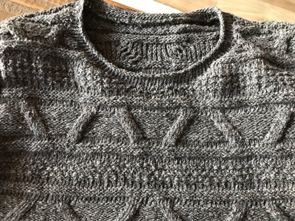 sweater collar