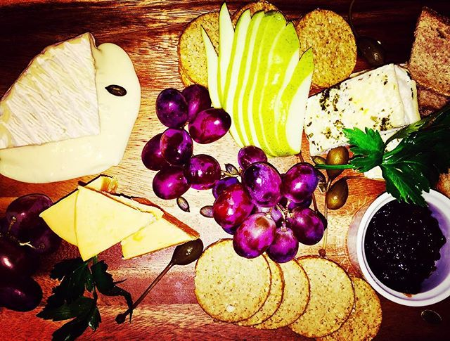 A selection of fine Scottish cheese on our cheeseboard