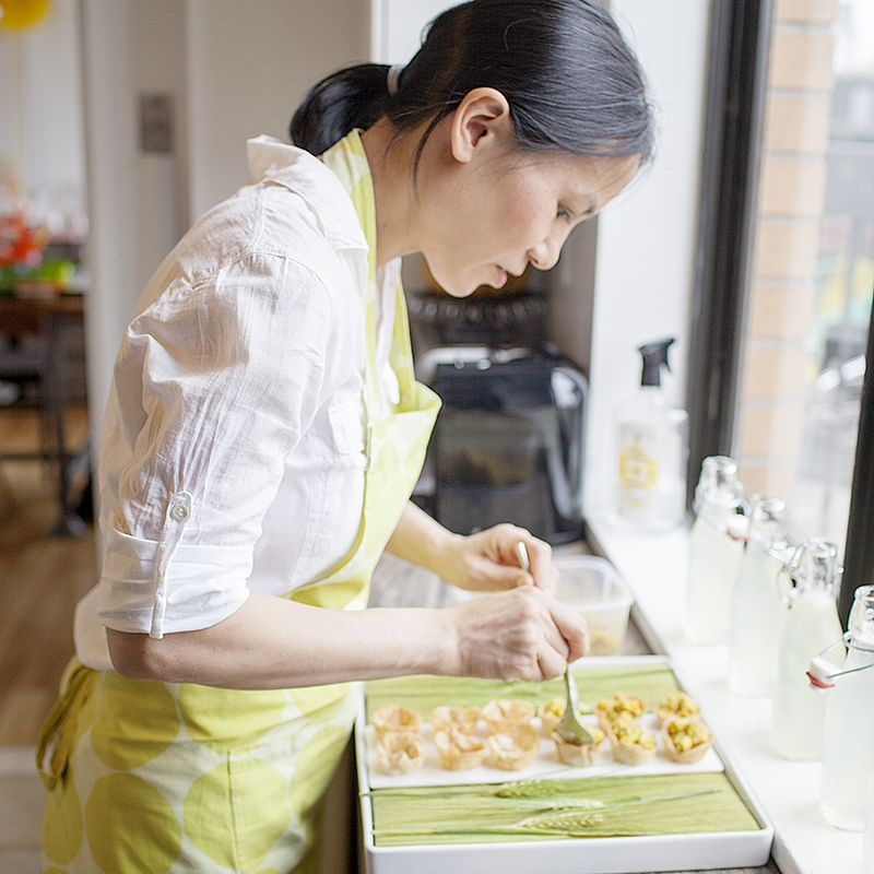 Chef Karen Ferries-Yoon - photo by Raquel Bianca, LLC