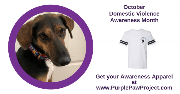 97b360236b47 Purple Paw Project t-shirts and pet bandannas can be purchased at  www.PurplePawProject.com. Sales benefit four local nonprofits: Friends of  Pima Animal Care ...