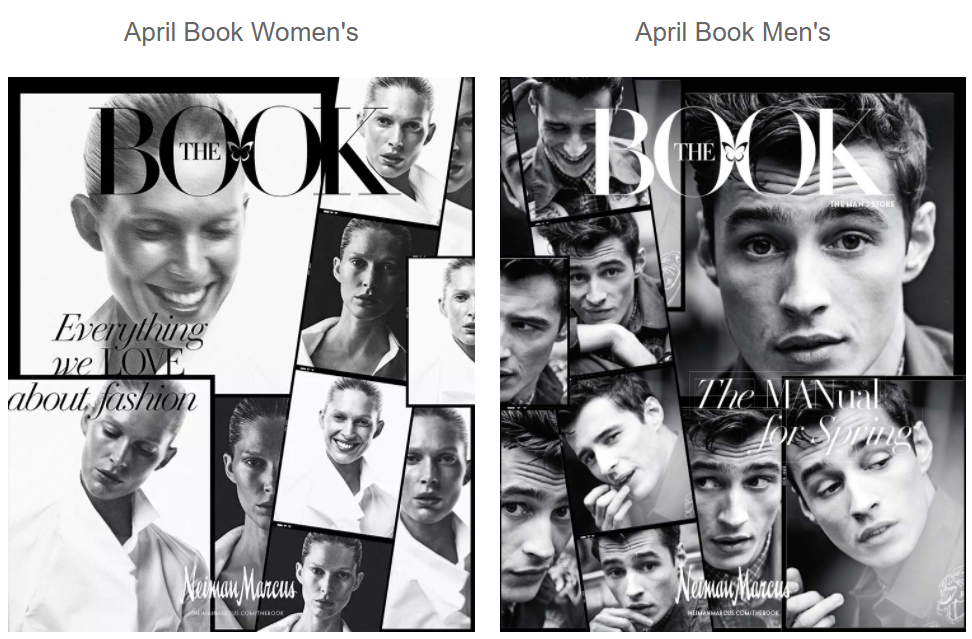 "Latest issues of ""The Book"" by Neiman Marcus"