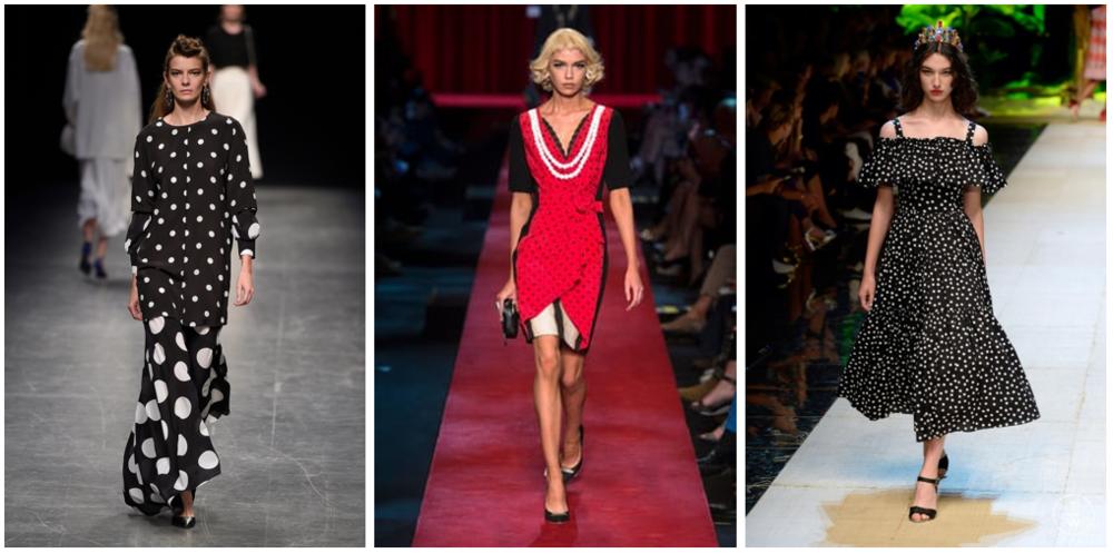 Left to Right:  Anteprima |Moschino |Dolce & Gabbana