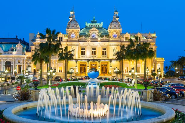 The Monaco Casino in Monte Carlo.