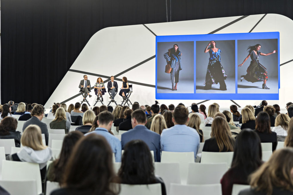 A session at Fashion Tech Forum.
