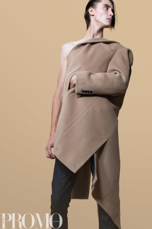 Calvin Klein Tan Coat Han Kjobenhaven Jeans