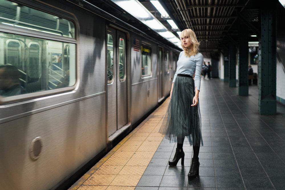 Sweeter: Otustanding Ordiny Skirt: I AM Coat: Moth Shoes: Naacee