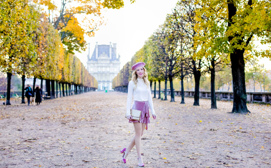 A photo from Emily's Fashion blog post on Paris