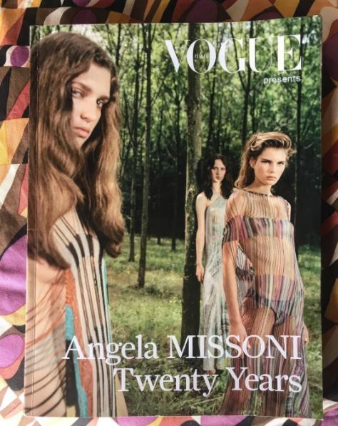 Angela Missoni's  Instagram post