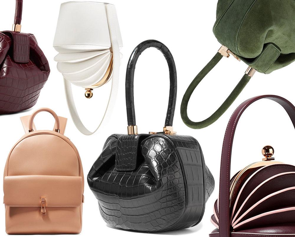 Gabriela Hearst bags; from BagSnob