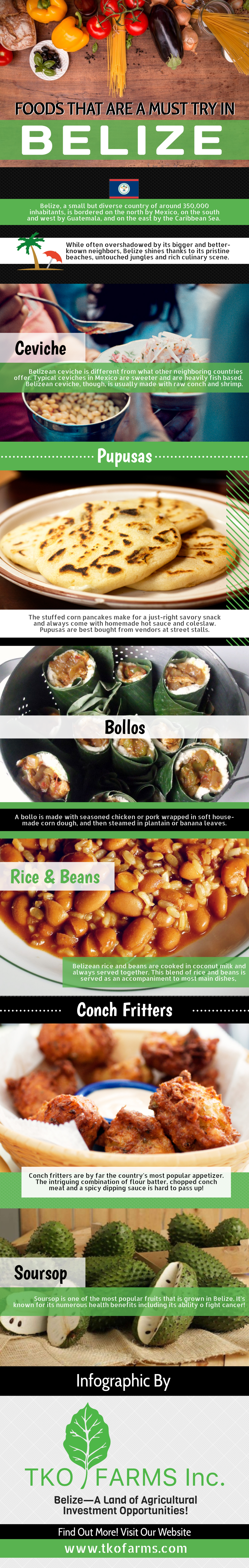 Belize Foods You Must Try