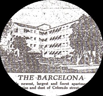 The Lobby of The Barcelona