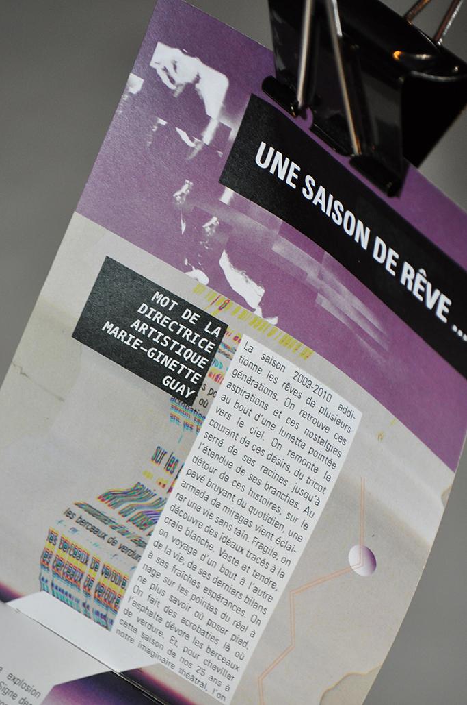 épreuve synthèse de programme - brochure—affiches