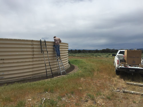 Idaho BLM Escape Ramp Installation