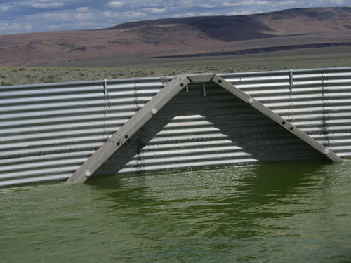 Deep Tank Escape Ramp in Water Storage Tank