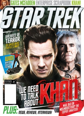 In Star Trek Magazine #49
