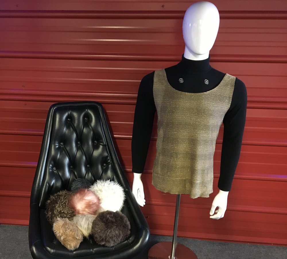 "Wardrobe and Props from  ""The Trouble with Tribbles""  ©2017 David R. George III"