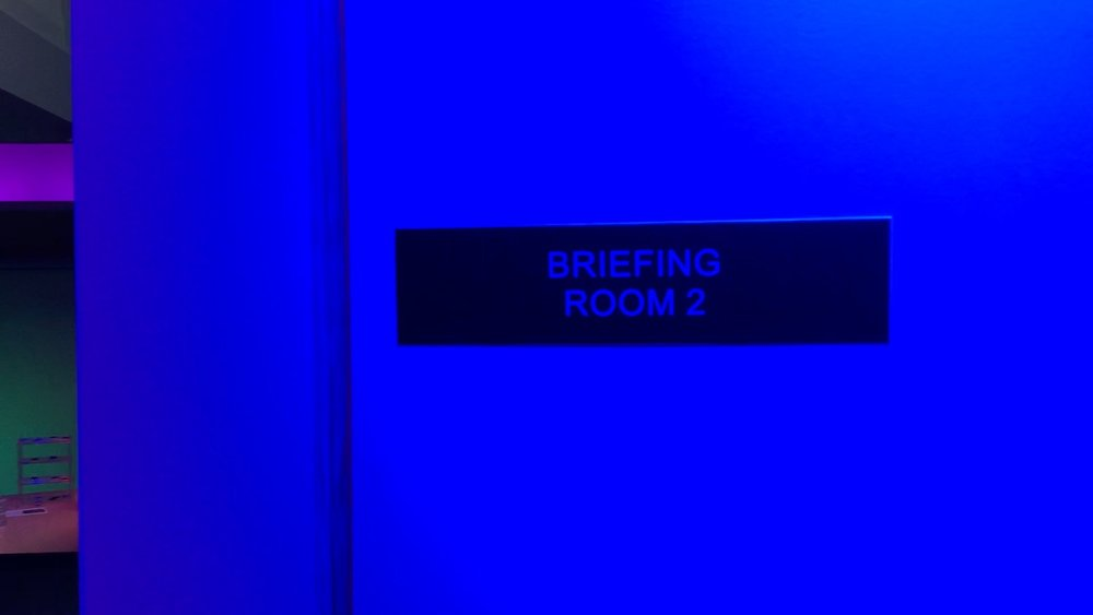 Outside Briefing Room ©2017 David R. George III