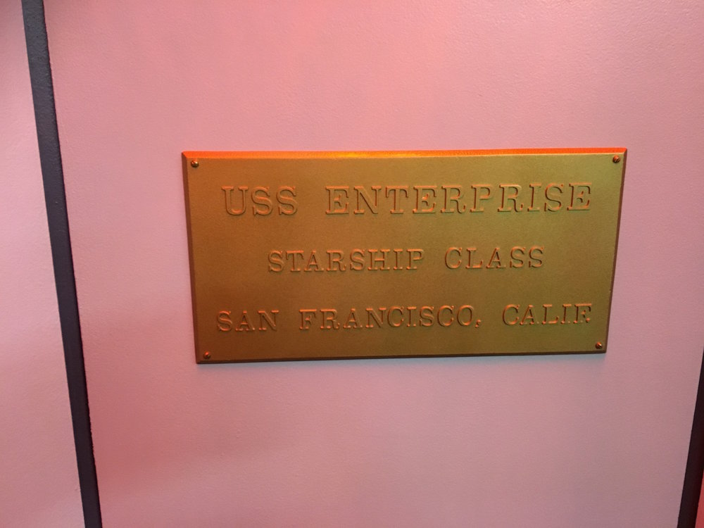 Starship Dedication Plaque ©2017 David R. George III