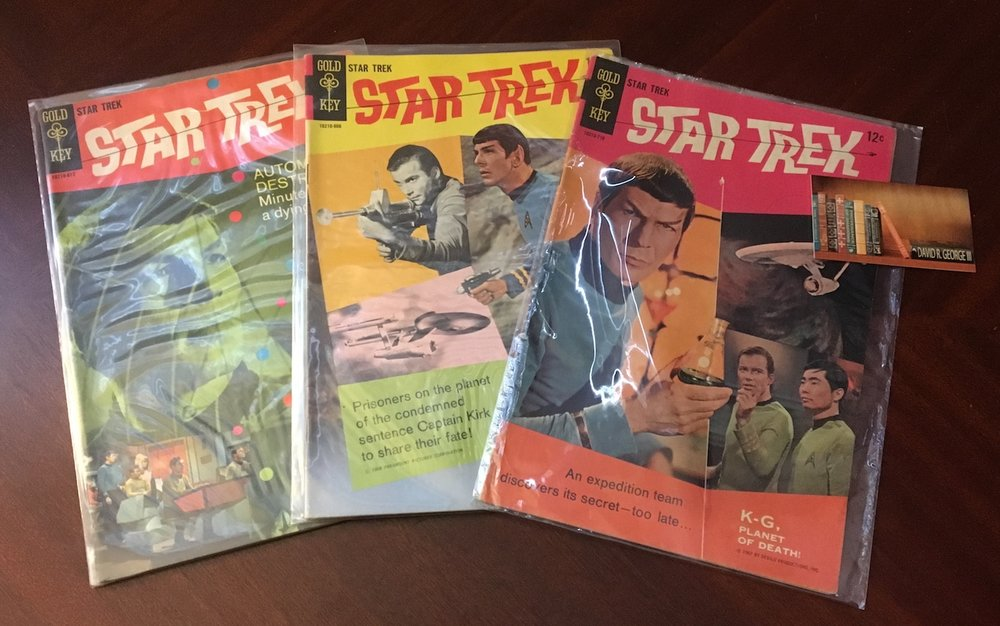 Gold Key  Star Trek  Comic Books, Issues #1-3 (1967-1968)