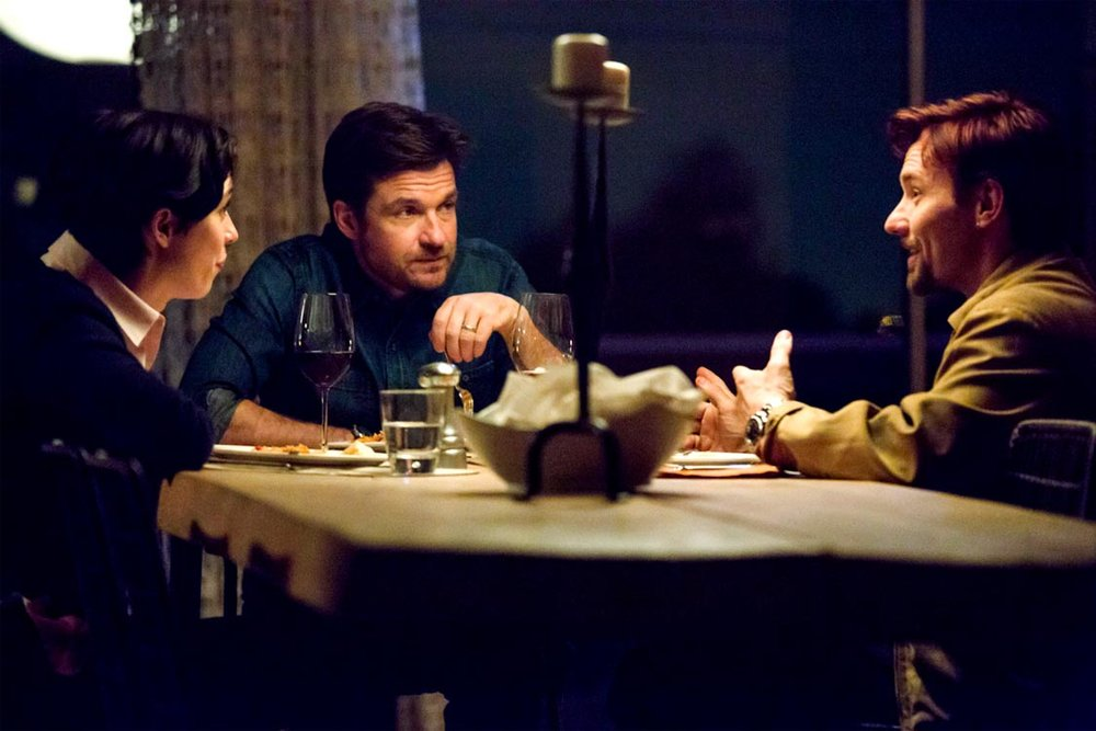 Rebecca Hall, Jason Bateman, and Joel Edgerton in The Gift