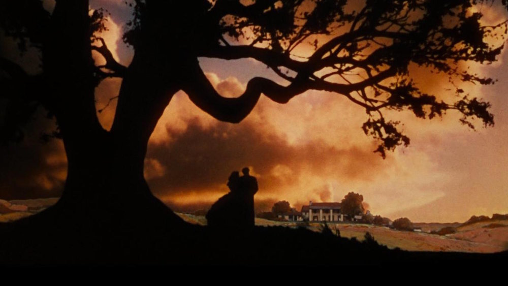 Overlooking the Tara Plantation in Gone With the Wind
