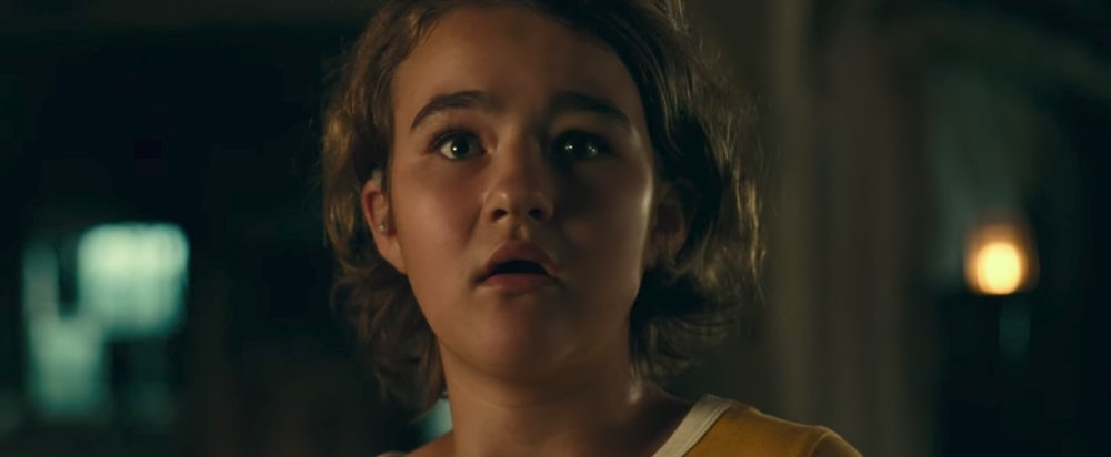 Young Millicent Simonds turns in a terrific performance in  A Quiet Place