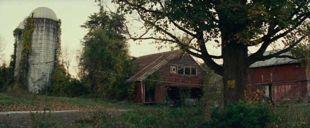 The Abbott family farm in  A Quiet Place