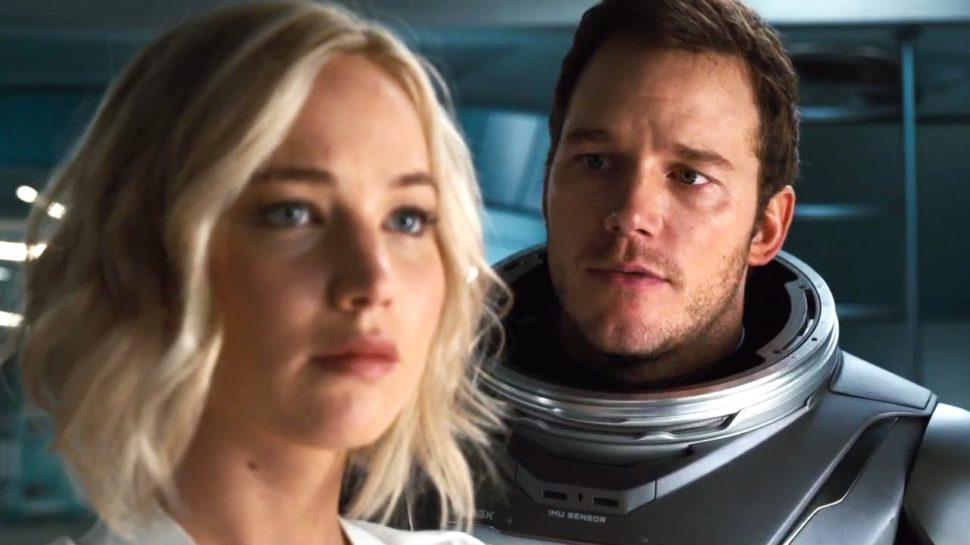 Jennifer Lawrence and Chris Pratt in  Passengers