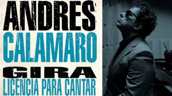 Andrés Calamaro Licencia para Cantar