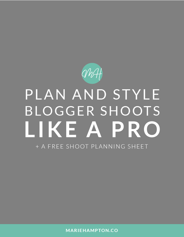 This guide makes planning and styling your life and style blogger photoshoots quick and easy! Take the hard work and stress out of shooting blog photos. Click the image to read the full post.