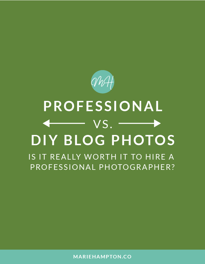 Take your own blog photos or hire a photographer: the age old (new age) dilemma. Read the full post for my two cents on the topic!