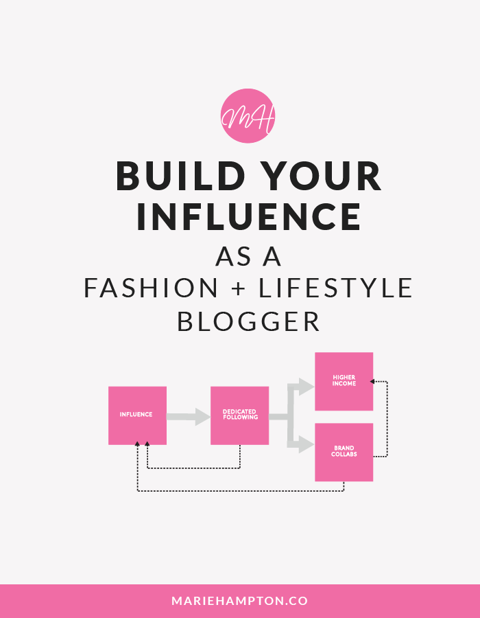 Grow your reach and build your following and influence as a fashion blogger. Read the full post to found out how.